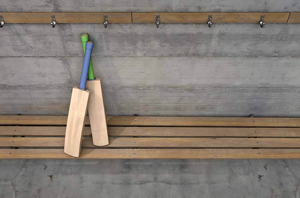 Glenn Maxwell Marks His Return to Form by Breaking Seat at Westpac Stadium