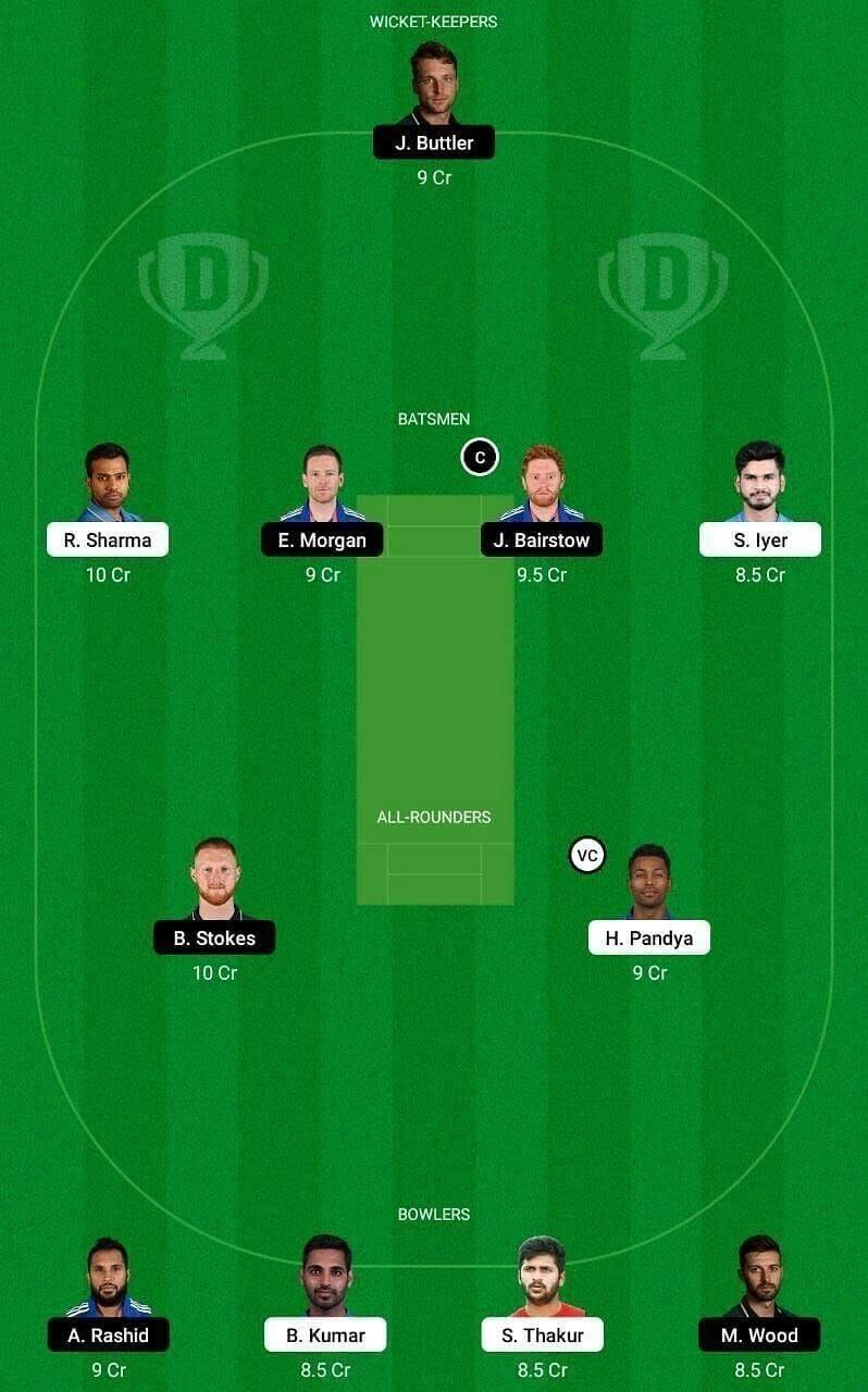 India vs England Dream11 Prediction: 2nd ODI, England Tour of India Match Prediction