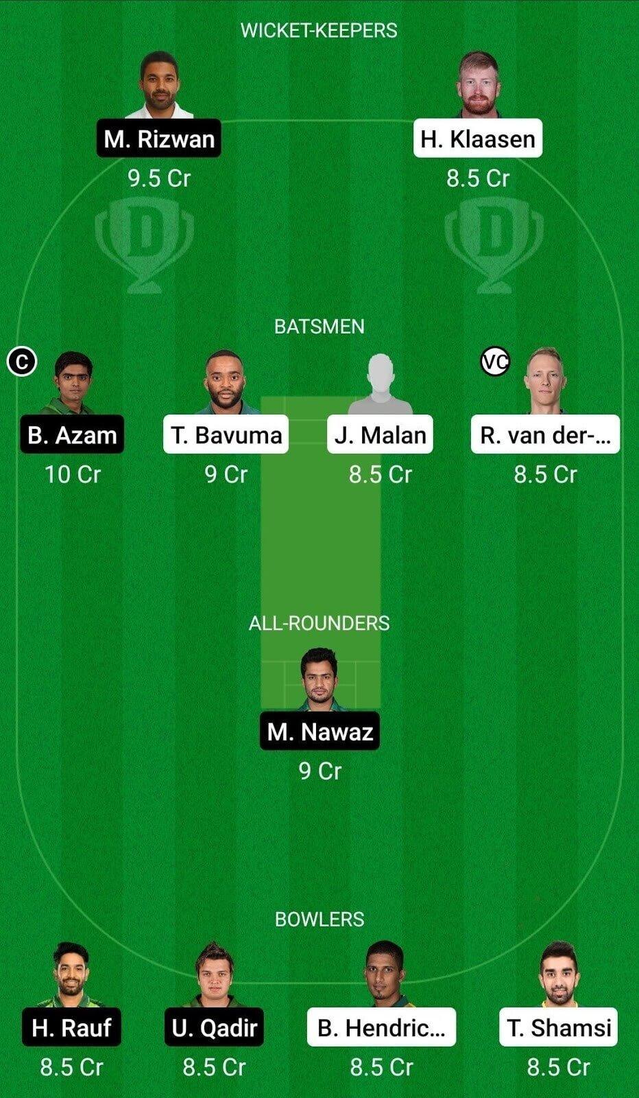 South Africa vs Pakistan Dream11 Prediction: 1st T20I, Pakistan Tour of South Africa Match Prediction