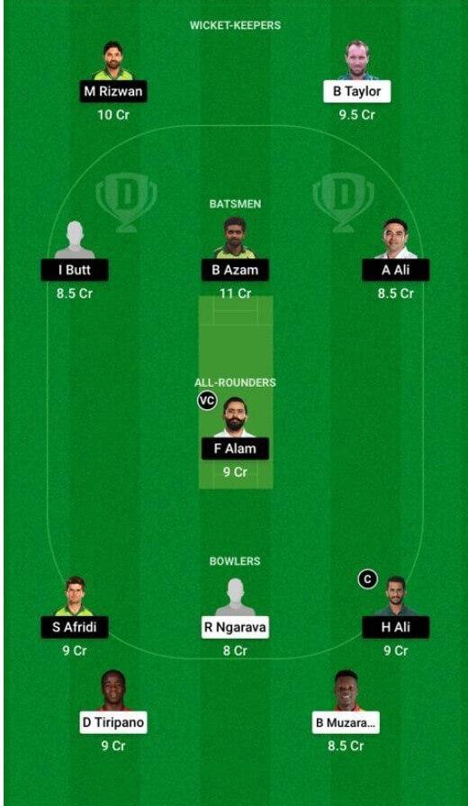 Zimbabwe vs Pakistan Dream11 Prediction: 2nd Test, May 7, 2021, Pakistan Tour of Zimbabwe