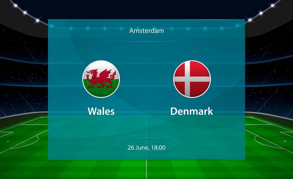 Wales vs Denmark Match Prediction June 26, 2021