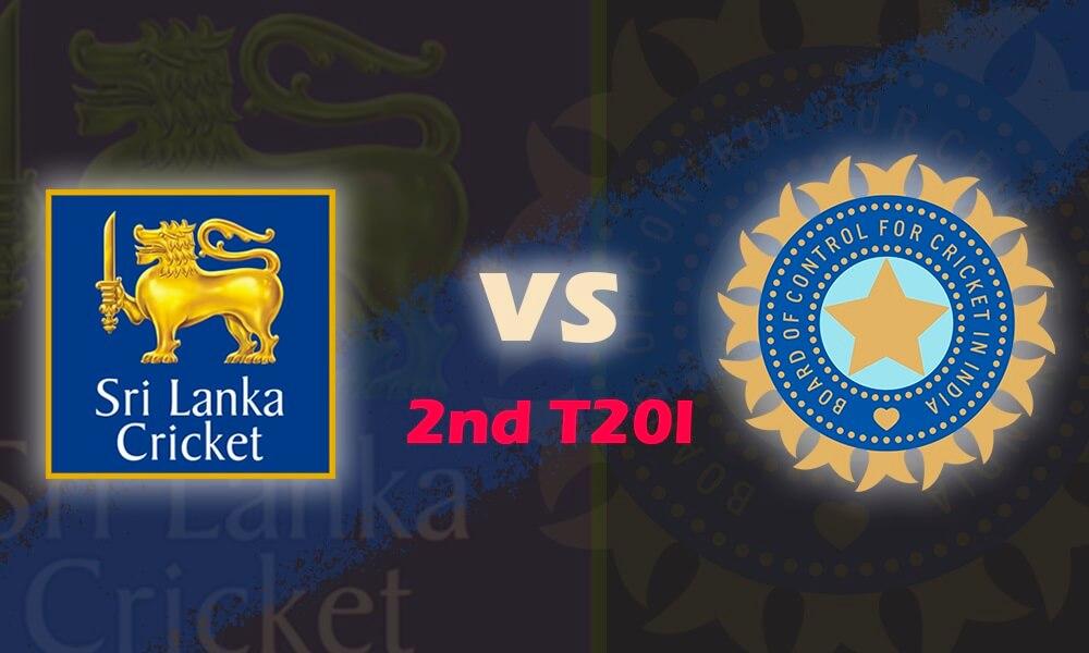 Sri Lanka vs India 2nd T20I (India tour of Sri Lanka)