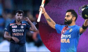 T Natarajan: I Teared up When Virat Kohli Handed Me the T20I Trophy