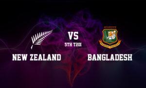 New Zealand vs Bangladesh Dream11 Prediction: 5th T20I, September 10, 2021, New Zealand Tour of Bangladesh