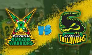 Guyana Amazon Warriors vs Jamaica Tallawahs: September 12, CPL