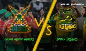 Guyana Amazon Warriors vs Jamaica Tallawahs: September 12, CPL 2021 Dream11 Prediction