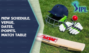 IPL 2021 New Schedule, Venue, Dates, Points, Match Table