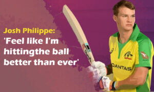 Josh Philippe 'Feel like I'm hitting the ball better than ever'
