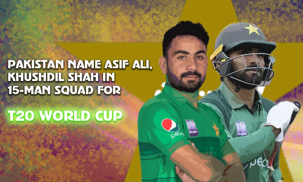 Pakistan Name Squad for T20 World Cup