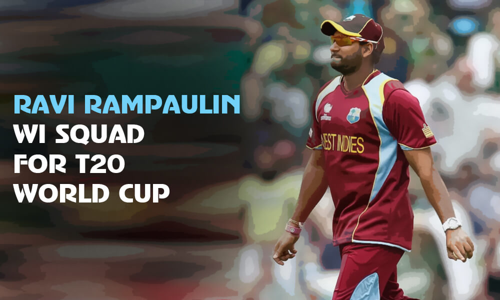 Ravi Rampaul Re-Joins WI T20 World Cup 2021 Squad