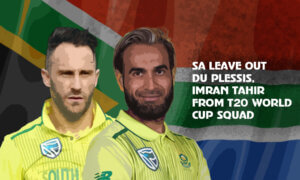 T20 World Cup: South Africa leave out Faf du Plessis, Imran Tahir and Chris Morris