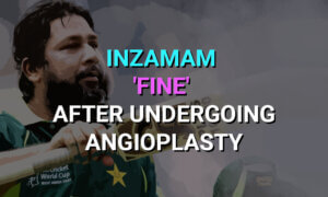 Inzamam 'fine' after undergoing angioplasty